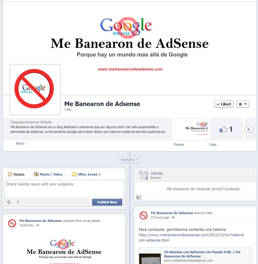 Nuevo Dominio y Página Facebook