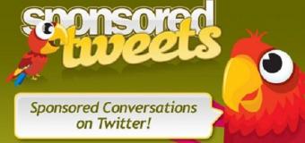 Ganar dinero con Twitter: Sponsored Tweets